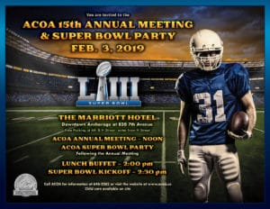 2019 Annual Meeting and Super Bowl Party @ The Marriott Hotel | Anchorage | Alaska | United States